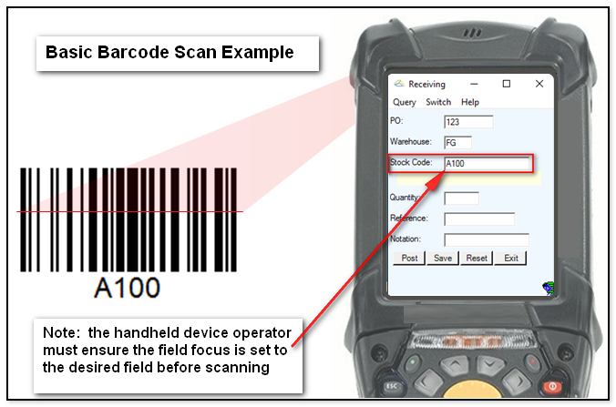 Barcode Basic Scan